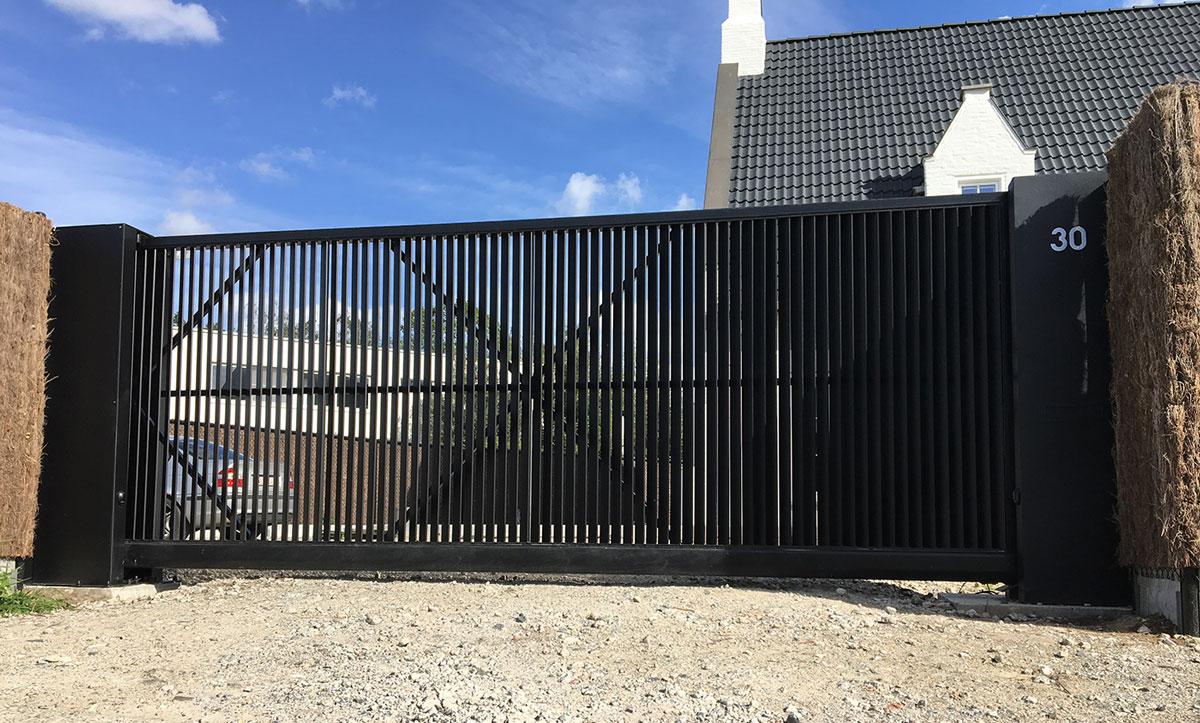 zwarte poort